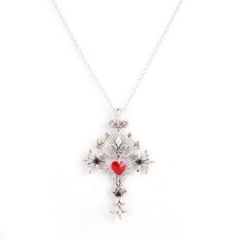 Ofashion As Rectangle Tassel Alloy Necklace Y52964 Hitam Info Source · Spek Harga Lrc Kalung Quality Bronze Fake Collar Alloy Korean Source Okdeals Vampire ...
