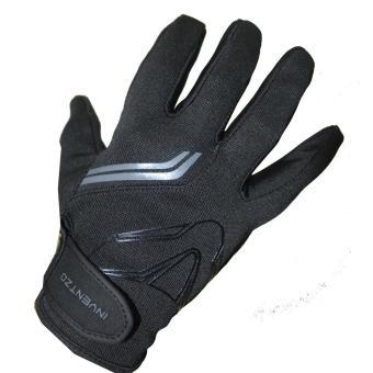 INVENTZO Fargo Sarung Tangan Motor Full Finger - Black Grey