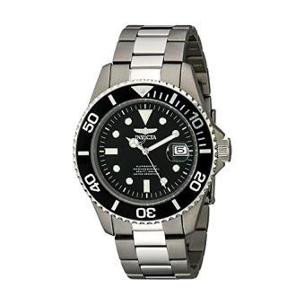 Invicta Men's 0420 Pro Diver Automatic Black Dial Titanium Watch (Intl)