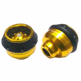 Jalu As Roda depan CNC Model Bulat Universal Size Medium - Gold