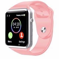Jam Tangan anak jam Handphone/Android SmartWatch Pink New