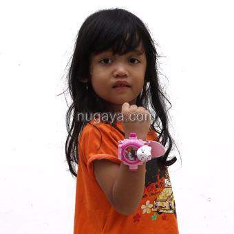 harga Jam Tangan Anak Proyektor - Hello Kitty Lazada.co.id