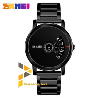 Jam Tangan Analog SKMEI Watch 1260 BLACK Stainless