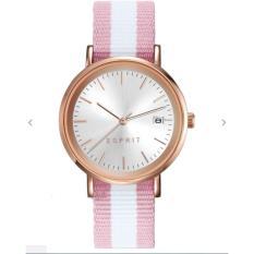 Jam Tangan Esprit ES108362003 Wanita Pink Nato