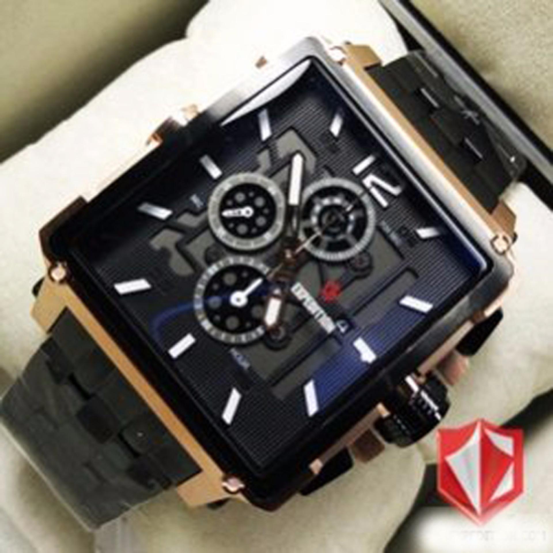 Jam Tangan Expedition E6694mrb Rose Black Original Pria E6679 Limited Edition E6618mbr Brown Terbaru Fashion