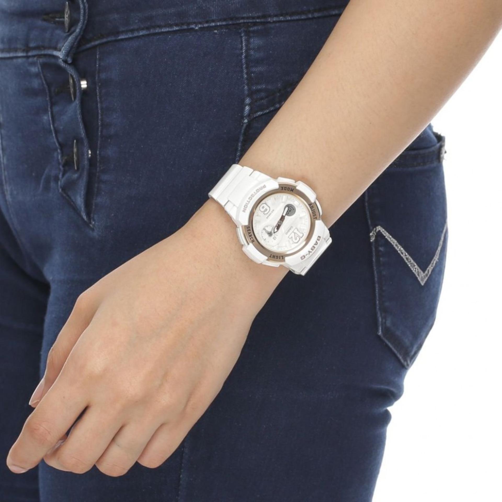 Jam Tangan Fashio Wanita Bga 210 7b3 Spec Dan Daftar Harga Terbaru Casio Baby G Bgs 180 2b3 Biru Muda