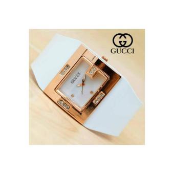Jam Tangan Gucci Ladies / Jam Tangan Wanita Tali Kulit ...
