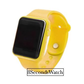 Jam Tangan LED - Jam Tangan Pria dan Wanita - Strap Karet - Kuning -  LED Yellow ff6c6c6f8d