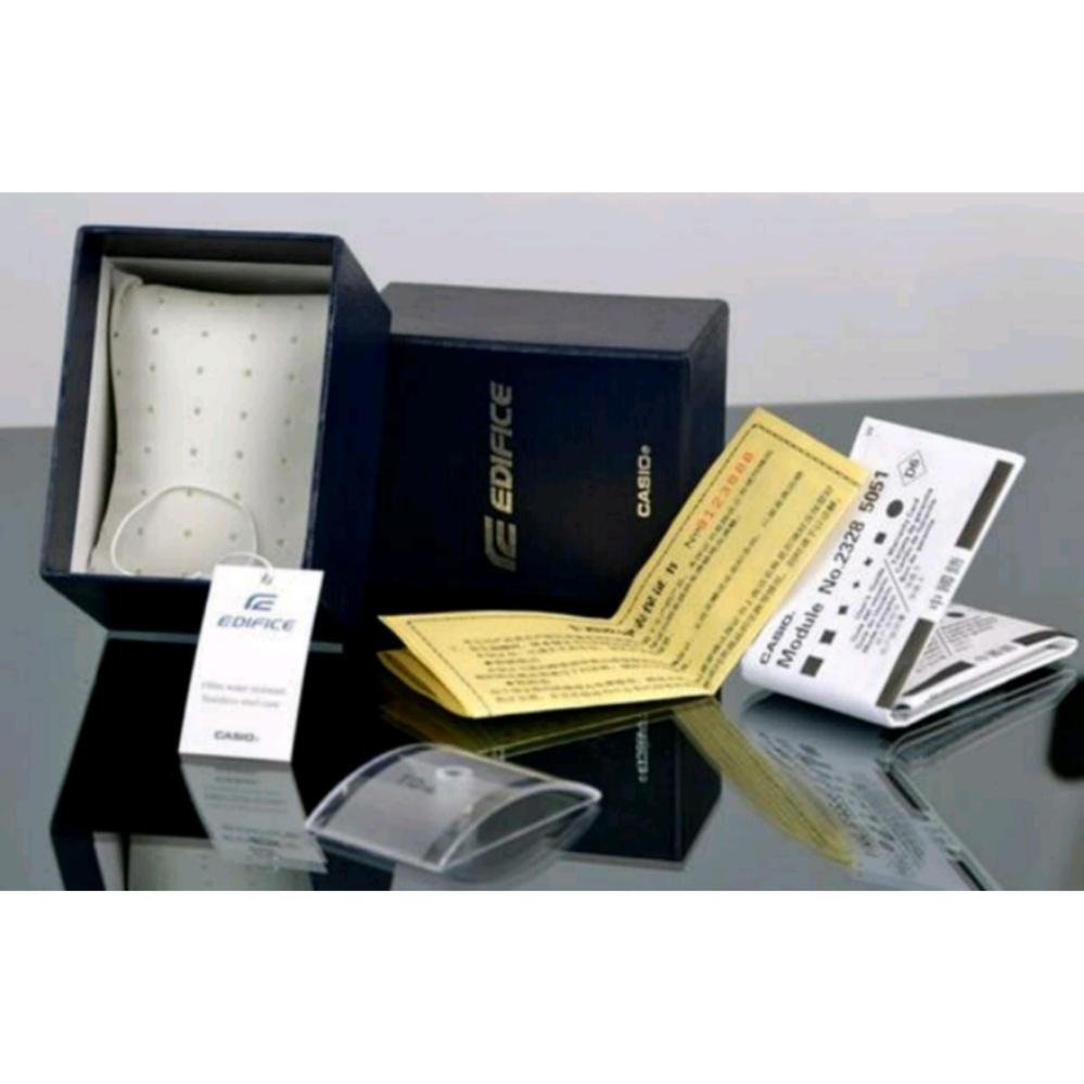 Anggaran Terbaik Jam Tangan Pria Casio Edifice Efr 539l 1av Silver Hitam Black Leather