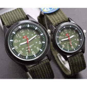 Swiss Army Jam Tangan Fashion Pasangan Pria Dan Wanita Cople Sa4190