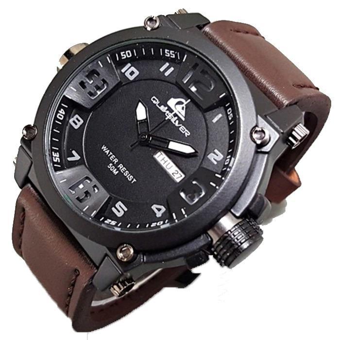 ... Watch Water Resistant 50m 0951 Tali Silicone Karet Jam tangan pria - Rip-curl / Quiksilver - Tali Kulit - Man's Casual /