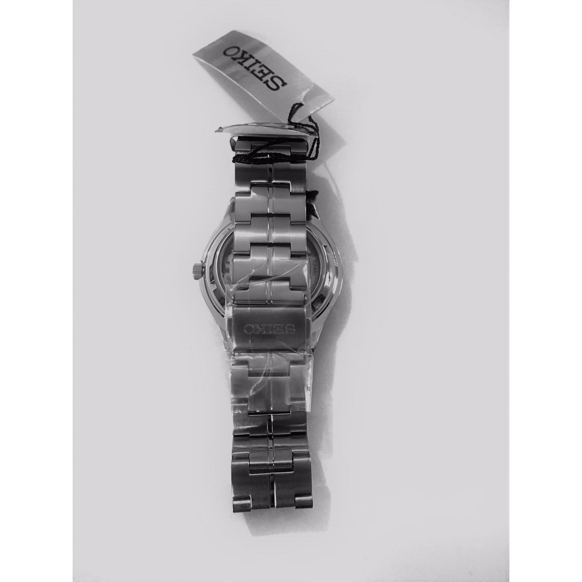 Jam Tangan Seiko Snk347 Strap Stainless Steel Silver Daftar Harga Chronograph Sks521p1