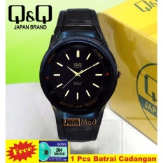 Jam Tangan Sport Wanita - Q&Q Watch - VP34J016 - Rubber Strap Jarum Gold