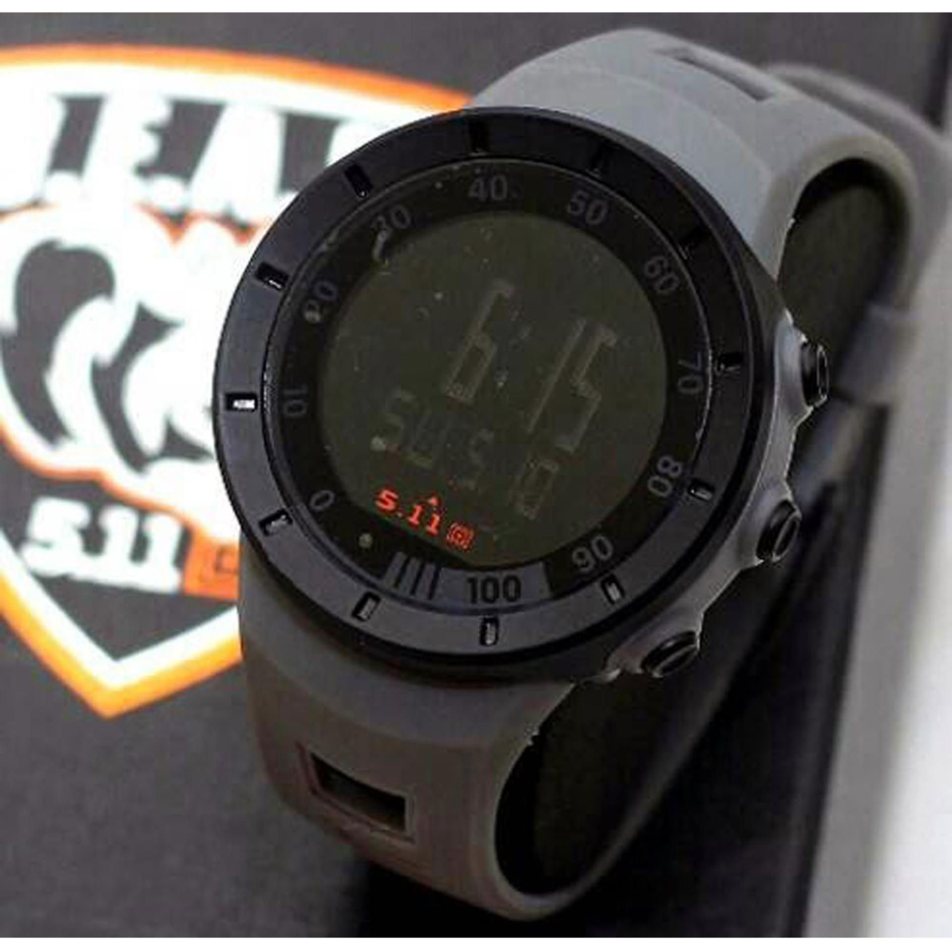 Jam Tangan Tactical 511 All Black