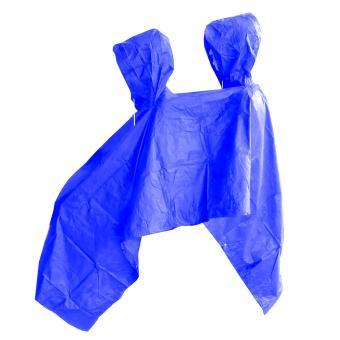 Jas Hujan Ponco 2 Kepala - Bahan Taslan Seperti Jashujan AXIO - Bukan Bahan Karet -