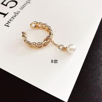 Jepang dan Korea Selatan masuknya orang membuka bersama style mutiara cincin cincin jari
