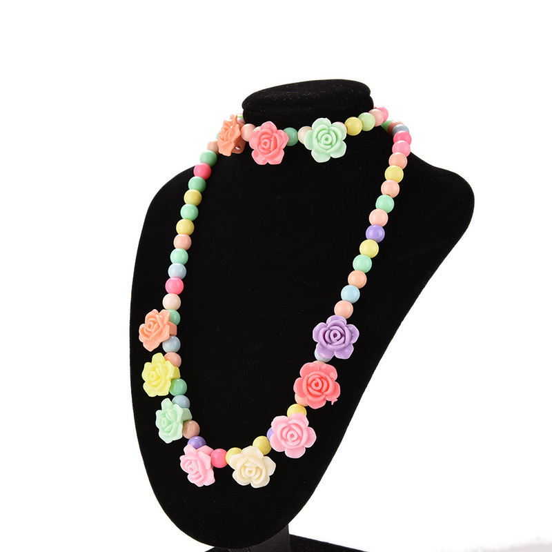 Jetting Buy Princess Bentuk Gelang Kalung Bunga Aneka Warna .