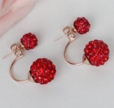 Jewelry ear Stud Nail Pearl Earrings diamond putih mutiara anting-anting