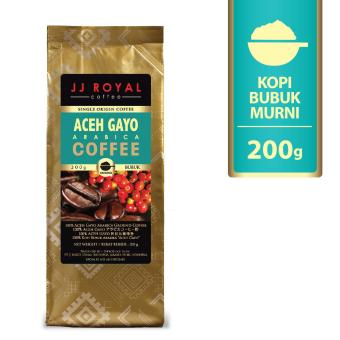 JJ Royal Coffee Aceh Gayo Arabica Ground (Kopi Bubuk) 200gr
