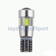 JMS - Lampu LED Mobil / Motor / Senja T10 Canbus 6 SMD 5630 - Red