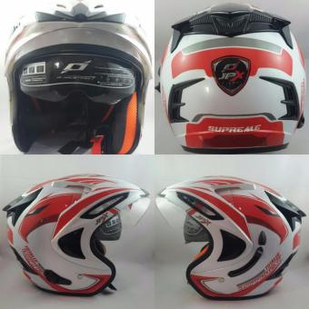 JPX Supreme Eagle Pearl White Red