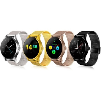 K88H MTK2502 Bluetooth Smart Watch Step Count Heart Rate Monitor For IOS Android - intl