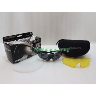 harga Kacamata Airsoft Gun Ess Crossbow 3 Lensa / Kacamata Army / Kacamata Sporty Lazada.co.id