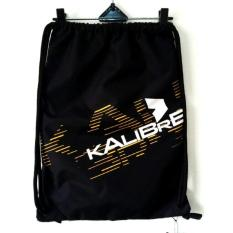 Kalibre Drawstring Bag 910702-000 Sackpack Gymsack Sack Bag Gym Bag Tas Serut Ransel Water Resistant Anti Air Waterproof Hitam Black