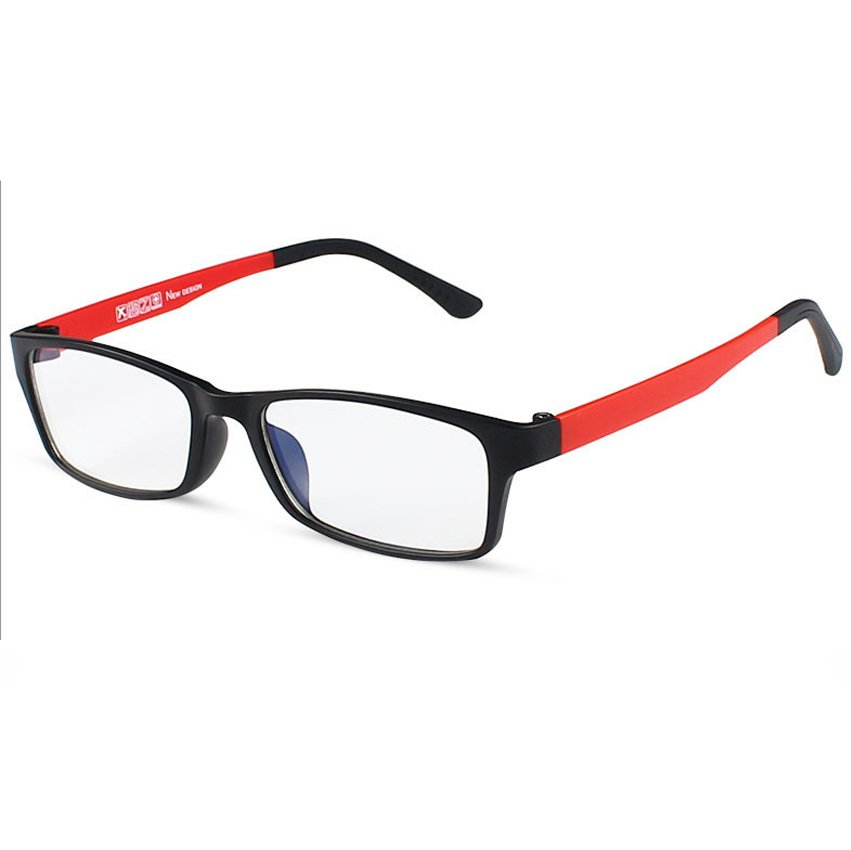 ... KATELUO Men and Women Anti-Fatigue Anti-Radiation Computer Goggles Glasses 1302 (Red ...