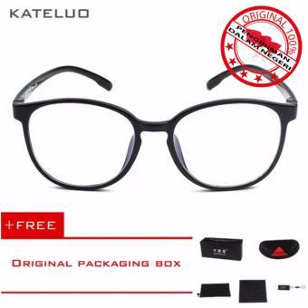 KATELUO TR-90 Kacamata Baca Komputer Anti Radiasi Pria Wanita Frame Ringan  - Free Kotak b853745d98