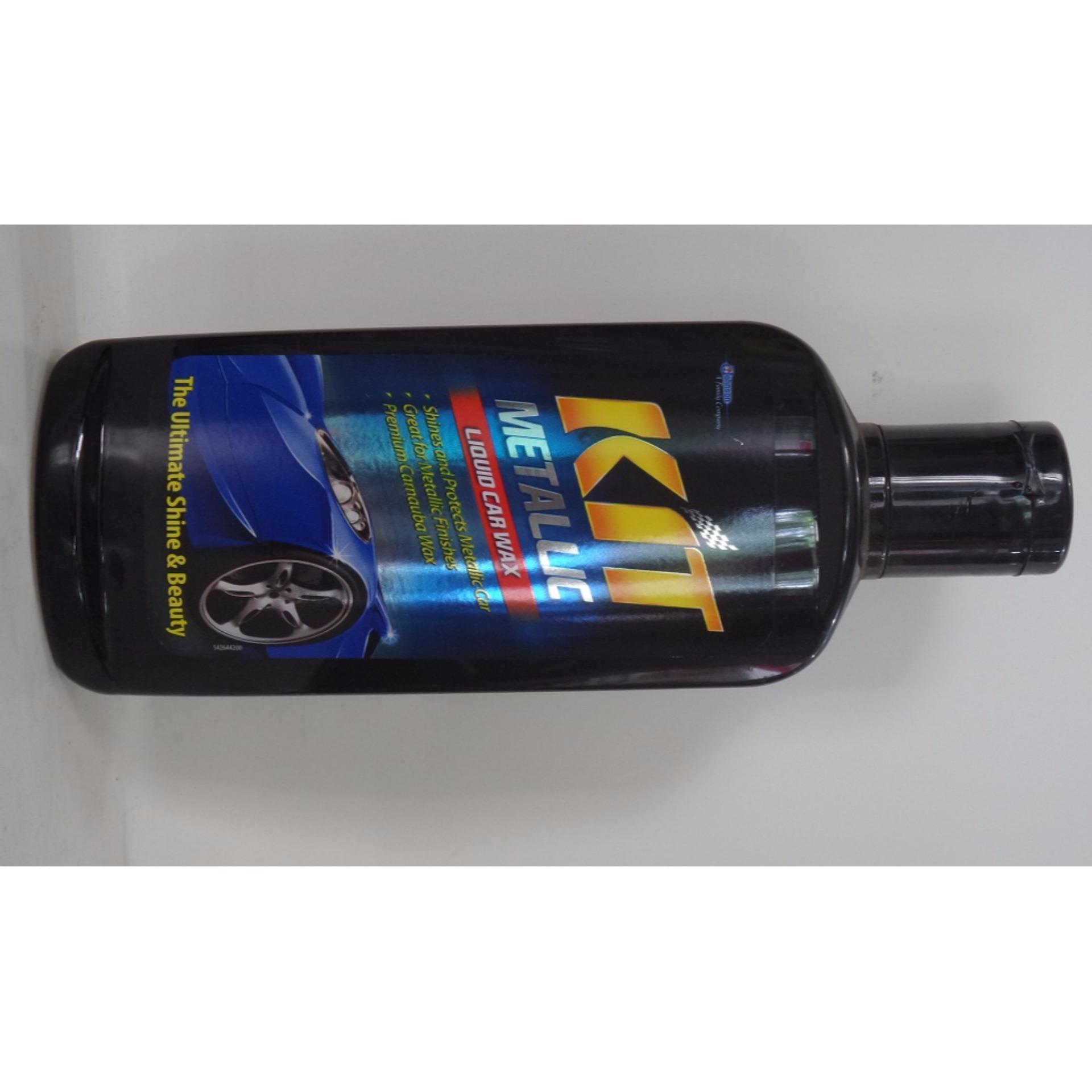 Kit Metalic Liquid Car Wax 275 ML