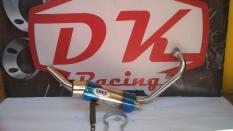 Knalpot Racing Yamaha Jupiter Mx King Dbs Fullsystem High Peforma