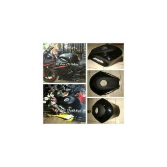 Kondom Tangki Ninja 250Cc Karbu Model Tankpad Hitam ( Warna Lain Bisa Cek Stok Dulu Sebelum