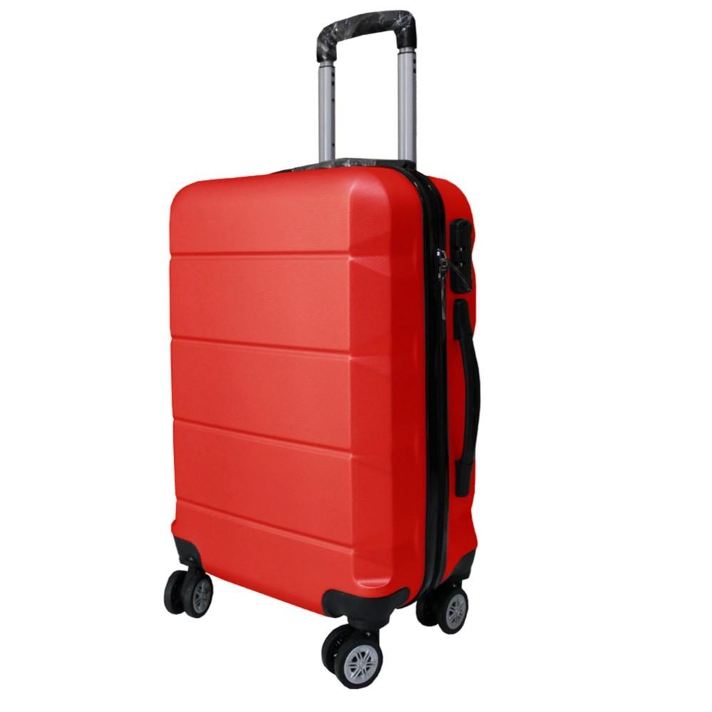 Koper Polo Expley Hardcase Luggage 20 Inchi 802-20 Waterproof Red