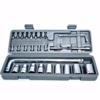 KUNCI SOCK 27 Pcs - SOCKET WRENCH SET - SHOCK