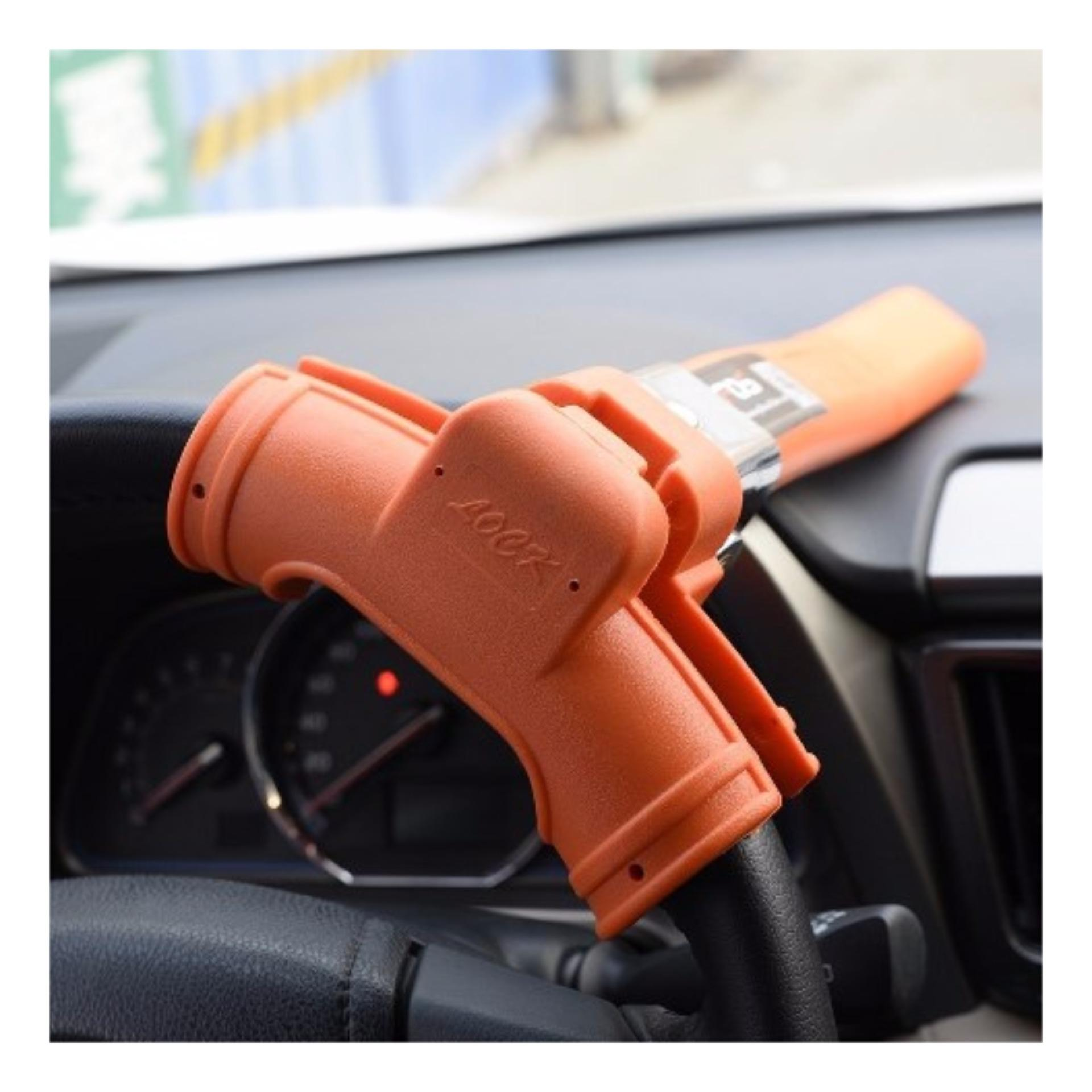 Sloof Kunci Pengaman Stir Mobil Ke Pilar Anti Maling Daftar Harga Oklock P1 Stang Model 1pin Full Orange Di Bagianstir Dengan Dashboard