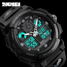 Laki-laki SKMEI Watch 1270 kuarsa Watch elektronik militer Waterproof jam tangan Digital relogio masculino - intl