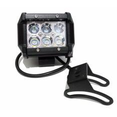 Lampu Led Cree 6 Mata kotak Lampu Offroad 18 Watt PutihIDR135000. Rp