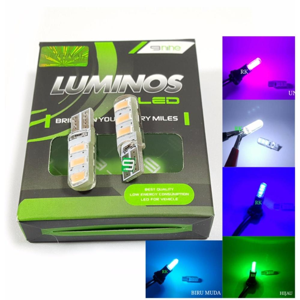 Lampu Senja Kota Sen Motor Mobil T10 Luminos - Putih