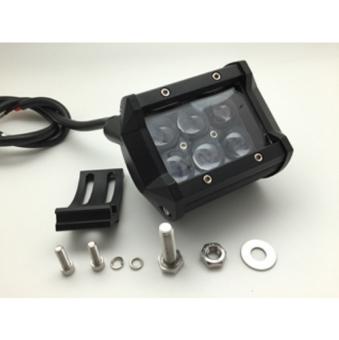Lampu Sorot Cree 18Watt Lensa Cembung fokus - Putih