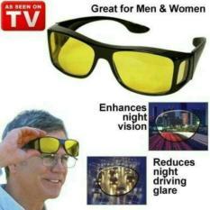 lanjarjaya Kaca Mata HD Vision ask vision ( 1 box isi 2 )Anti Silau Kacamata siang dan malam