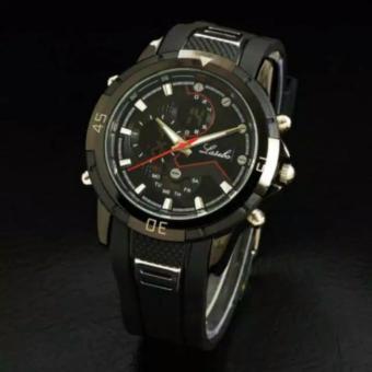 Gambar Lasebo LA_C77_LGS Dual Time Jam Tangan Sport Pria Rubber Strap Water Proof