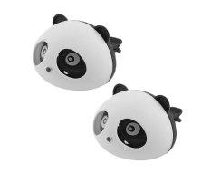 Leegoal Panda Mini Mobil Freshener Aroma Wangi Parfum Ventilasi Udara Untuk Mobil Kontrol Otomatis Rasa Penyebar