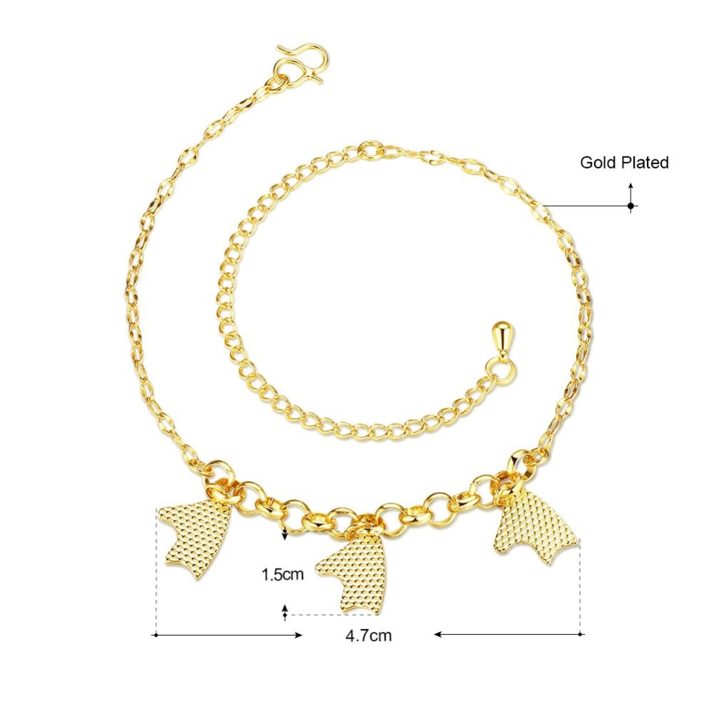 thin steel in stainless woman gift gold from bracelets star chain size for classic ankle anklet women anklets love item jewelry bracelet rose adjustable