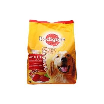 Makanan Anjing Pedigree Beef & Vegetables 1.5 Kg