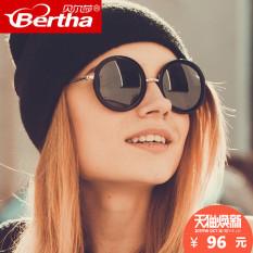 Masuknya orang Korea Fashion Style bingkai putaran perempuan SHININGSTAR  model Shishang matahari cermin retro kacamata hitam 9535f98295