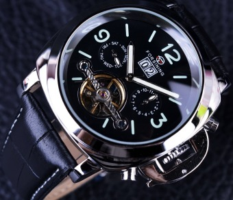 Men Watch Top Brand Luxury Automatic Tourbillon Sport Casual Military Watch Clock