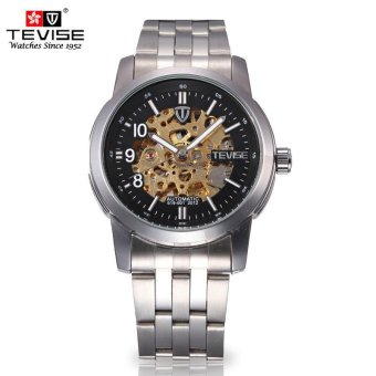 Men's Fashion Trend of Automatic Machinery New Waterproof Watches - intl