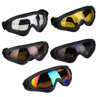 Mens oversized Sunglasses Matte Black Rubberized Polarized Motor Cycle Sport NEW - intl