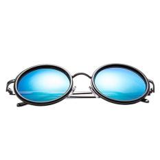 Mens Polarized Aviator Sunglasses Outdoor Driving Glasses Eyewear Lens Blue - intl
